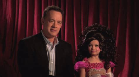 toddlers tiaras with tom hanks tom hanks hollywood the celebrity social