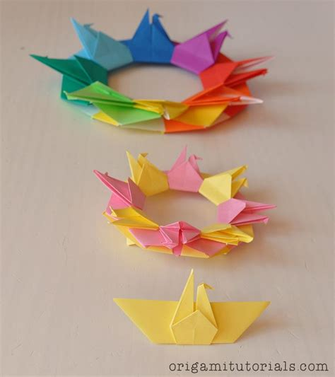 origami garland tutorial 1930 best images about origami mandalas estrelas e tea
