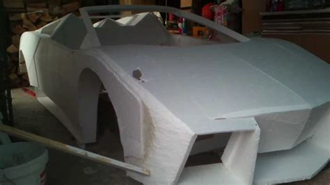 Make My Own Lamborghini How To Build A Lamborghini Reventon From Foam P 1