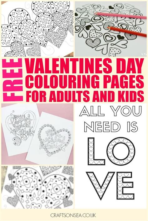 200 gorgeous free colouring pages for adults crafts on sea 426 best valentine s day crafts activities and snacks