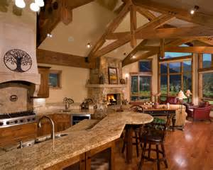 Country Homes And Interiors Recipes Kitchen Designs For Mountain Homes