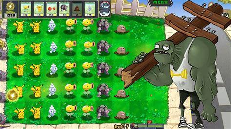 mod game plant vs zombie pc plants vs zombies mod pokemon team pokemon fight youtube