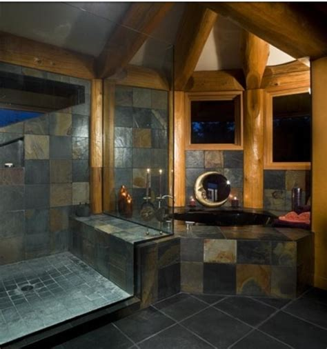 log home bathrooms log cabin bathroom i can dream home pinterest