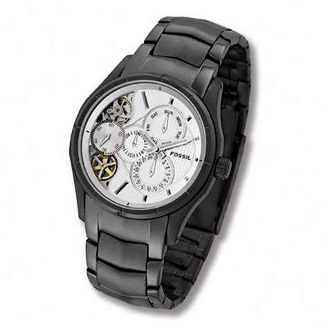 Fossil Silver Combi s fossil twist automatic with silver tone model me1019 view all watches