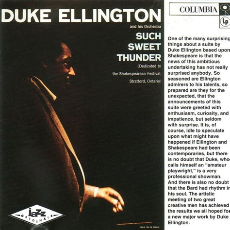 Sweet Thunder by Duke Ellington And His Orchestra Such Sweet Thunder