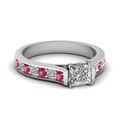 Pave Engagement Ring by Pave Set Micropave Engagement Rings Setting