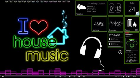 the music house i love house music wallpapers wallpaper cave