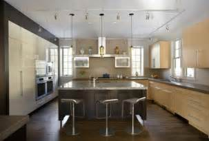 modern kitchen island lighting lda architects green gambrel leed certified home features niche pharos pendants