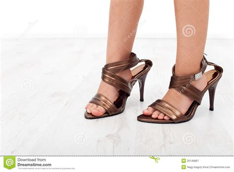 child high heels high heel shoes on child royalty free stock