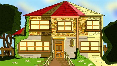 brooke hayes animation  house front design