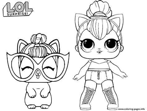 lol kitty queen coloring pages printable