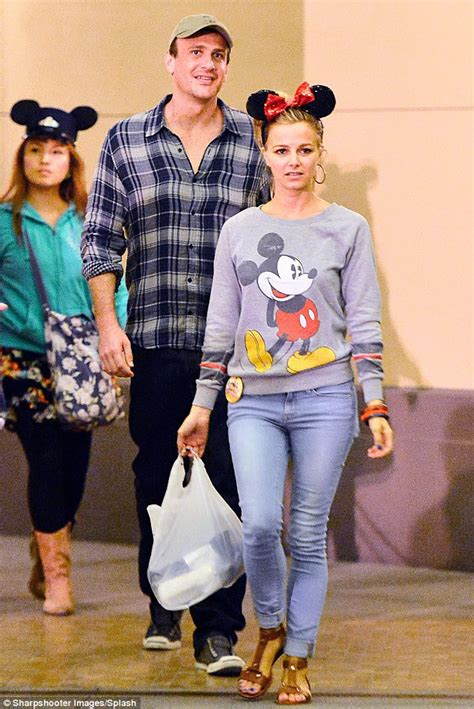 Jason Segel enjoys Disneyland date with Bojana Novakovic