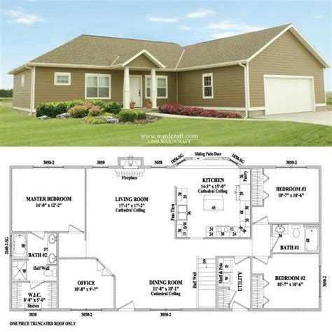 wardcraft homes floor plans 90 best images about floorplans ranch on pinterest