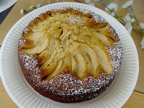 apfel vanille kuchen vanille mandel kuchen mit apfel rezept mit bild