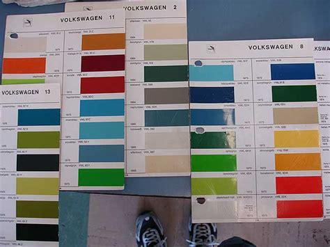 paint colors for union glasurit paint chips