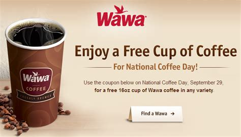 Wawa: Sign up for FREE Coffee on 9/29   Cha Ching on a Shoestring?