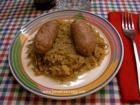 cucinare crauti freschi ricetta di fornelli selvaggi crauti