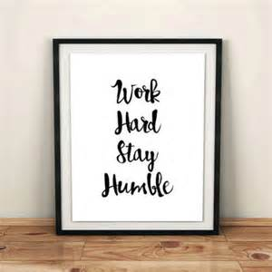 Office Desk Decoration Quotes Shop It S To Be Humble Quote On Wanelo