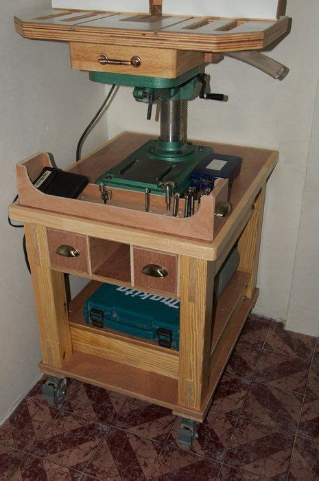 drill press stand plans google search drill press
