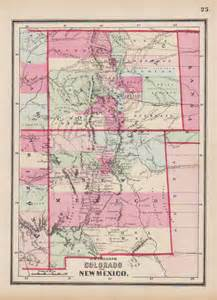 antique maps of new mexico