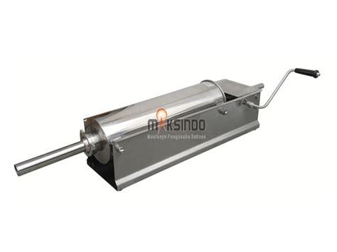 Alat Pembuat Sosis Alat Pencetak Sosis alat cetak sosis horizontal stainless 3 7 liter mks 3h toko mesin maksindo toko mesin maksindo