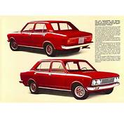 1971 81 Fiat 132 Brochure