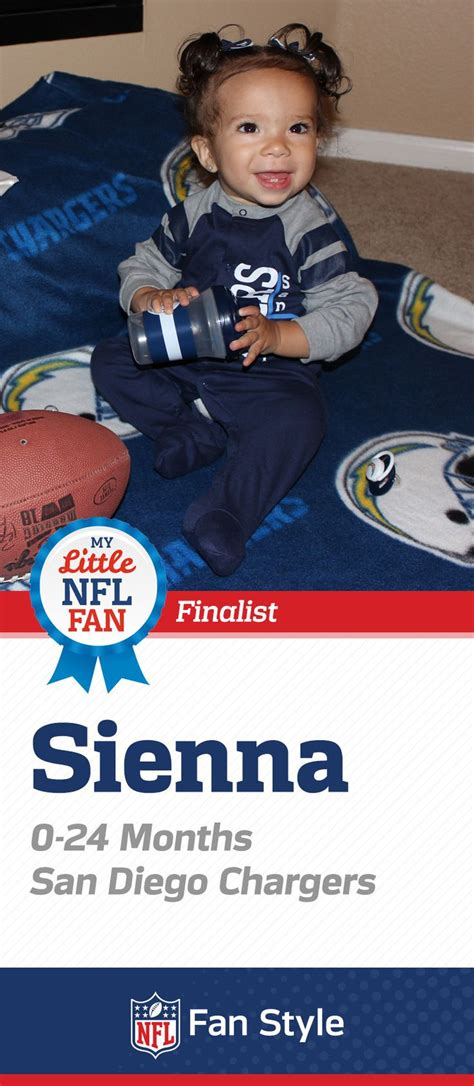 nfl newborn fan club sienna is ready for another season of san diego chargers