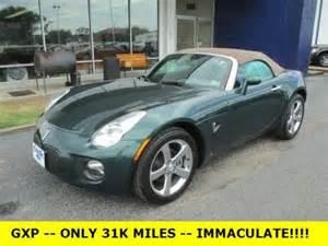 buy used 2007 pontiac solstice gxp convertible 33k low