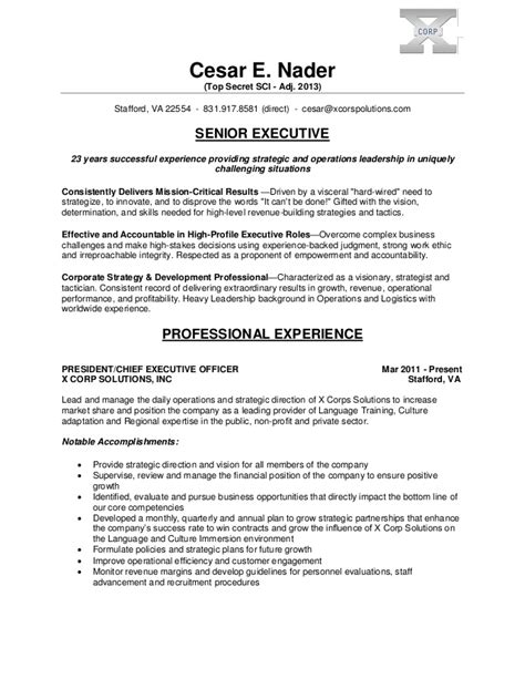 Infantry Resume Examples by Cesar Nader Executive Resume V 2013