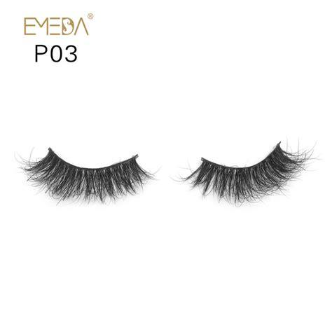 Eyelashes P03 supply premium tiny 3d mink eyelashes y py1 emeda eyelash
