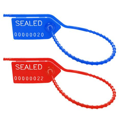 plastic security seals adjustable truck seals novavision