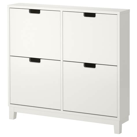 ikea large white storage cabinet st 196 ll shoe cabinet with 4 compartments white 96x90 cm ikea