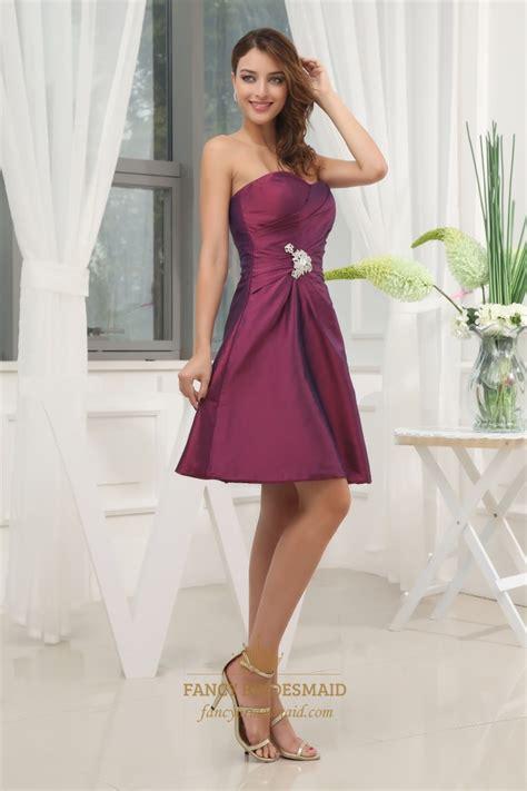 Bj Side Line Dress Purple a line sweetheart cocktail dress purple taffeta