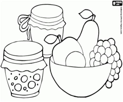 breakfast coloring pages printable games