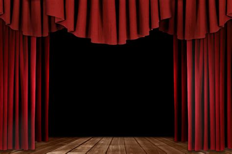 theatre stage curtains we could cable tie curtain rods suspended from the