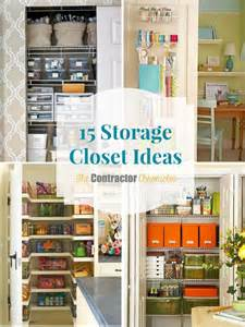 15 storage closet ideas the contractor chronicles