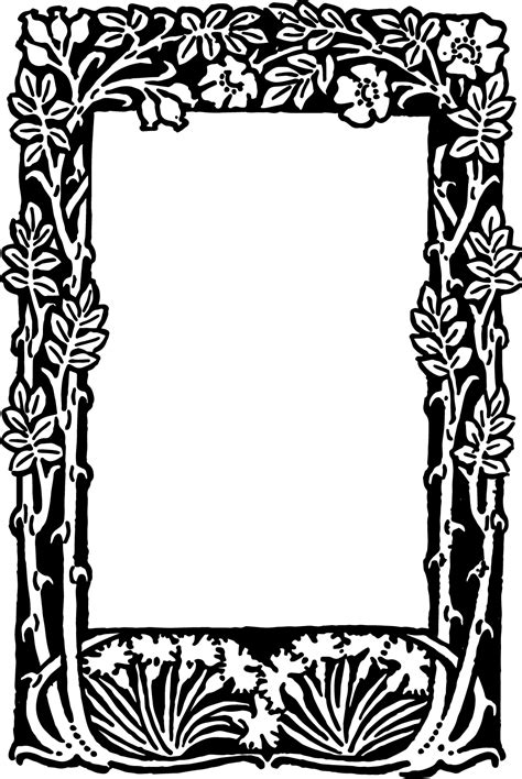 printable art to frame free printable borders frames clipart best