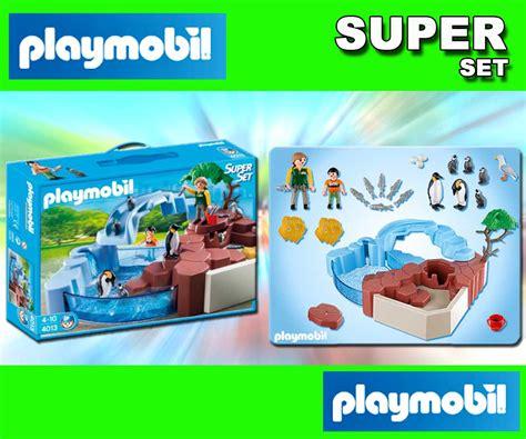 Nella Pinguin Set giocattolo playmobil 4013 zoo pinguini set ebay