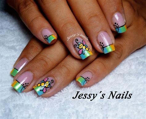 imagenes uñas decoradas libelulas mejores 174 im 225 genes de nail art en pinterest nailart