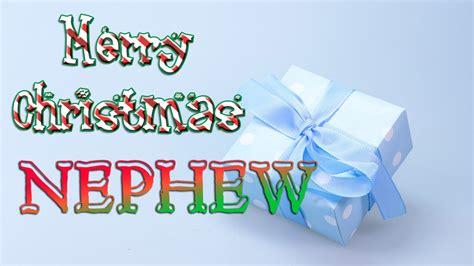 merry christmas nephew christmas  card ecard youtube