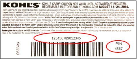 Kohls Online Gift Card - 191 c 243 mo puedo ingresar el cup 243 n de kohl s cash 174 en mi compra de kohls com