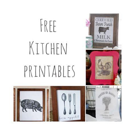 farmhouse decor printables free kitchen printables farmhouse kitchen decor the