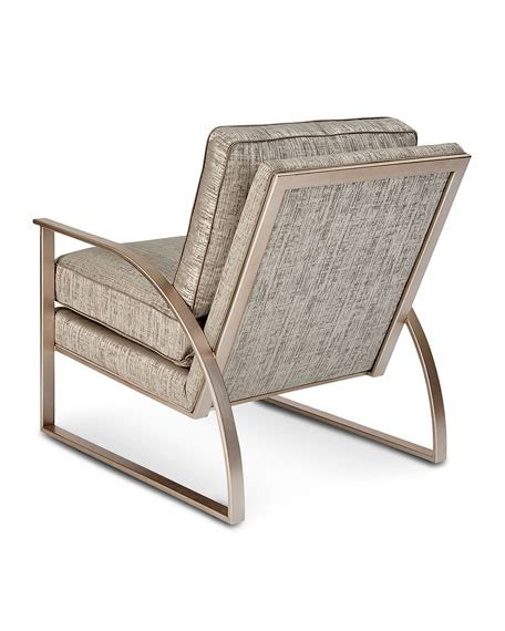 metal accent chair nahla metal and upholstered accent chair