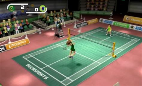 sports wallpaper badminton game hands on deca sports that videogame blog