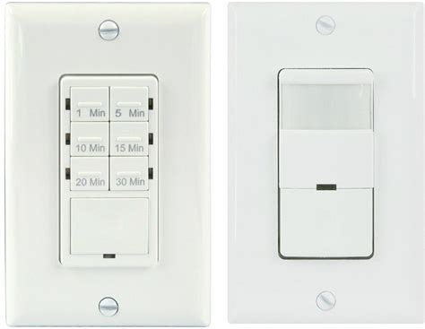 Bathroom Light Sensor Switch Topgreener Tdos5 Het06a Bathroom Fan Timer Switch Light Sensor Switch Ebay