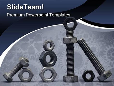 industrial powerpoint templates nuts and bolts industrial powerpoint templates and