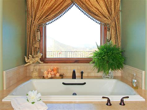bathtub curtain ideas modern bathroom window curtains ideas