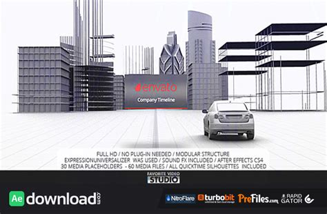 after effects free timeline template videohive favorite company timeline direct download
