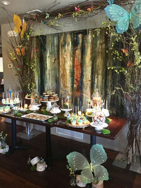 Enchanted Forest Baby Shower Party Ideas   Photo 1 of 26