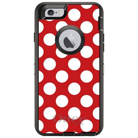 Iphone 7plus Custom custom otterbox defender for iphone 6 6s 7 plus white polka dots ebay